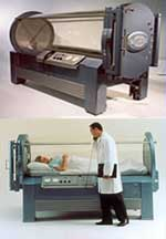 HBOT FAQs - Image of hyperbaric chamber